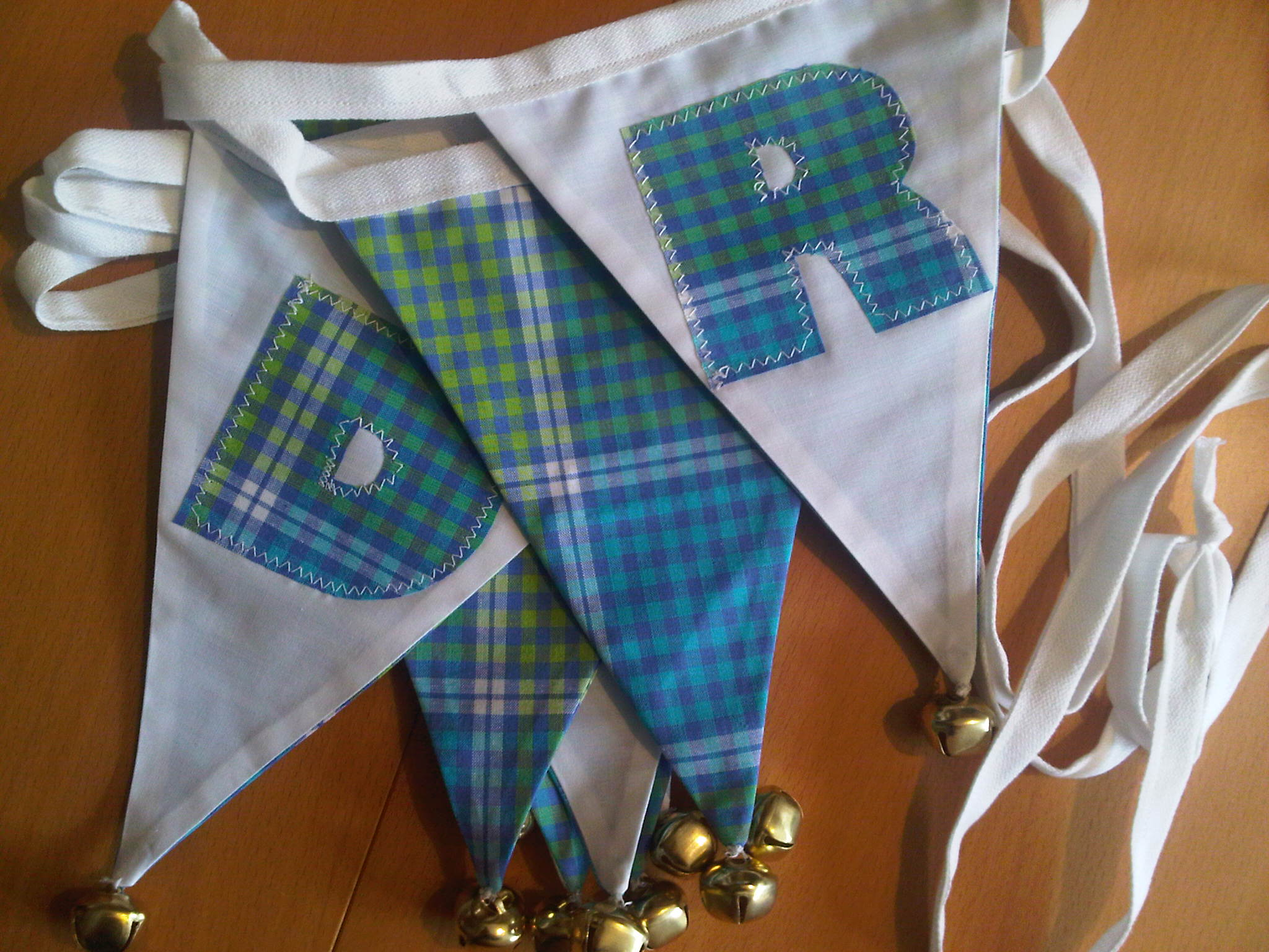 Personalised Bunting with Bells On!